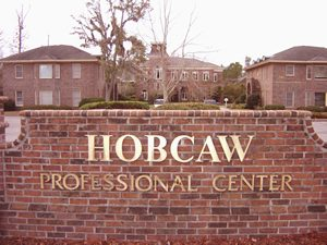 Hobcaw Professional Center sign